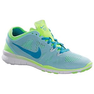 Nike Free 5.0 Damen Türkis Weiß