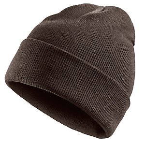 MasterDis Basic Flap Long Beanie braun