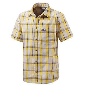 Jack Wolfskin Hot Chili Kurzarmhemd Herren gelb