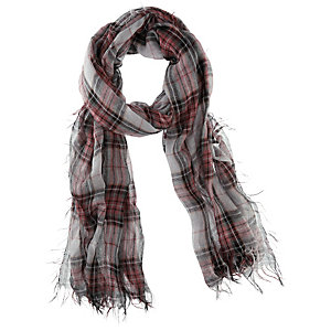 Codello Schal Damen grau/rot