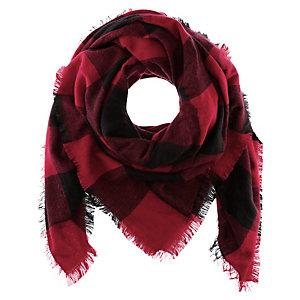 Codello Schal Damen schwarz/rot