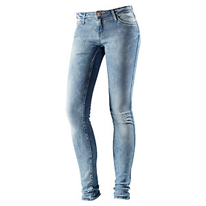 Lee Toxey Skinny Fit Jeans Damen light used denim
