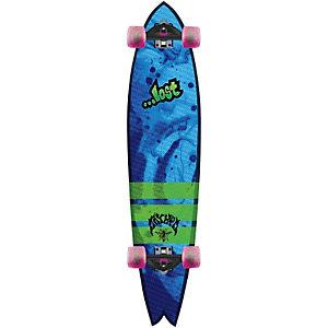 Lost Lgb. Stinger Longboard-Komplettset blau/grün