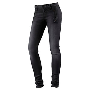 Lee Toxey Variation Skinny Fit Jeans Damen black denim