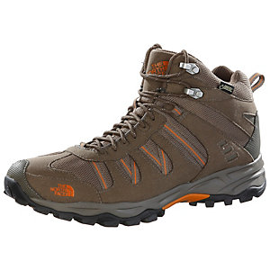 The North Face Sakura Mid GTX Wanderschuhe Herren braun/orange