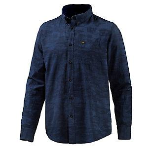 Lee Langarmhemd Herren dunkelblau