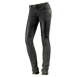 DEPT Skinny Fit Jeans Damen grau/denim