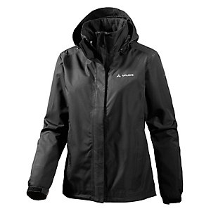 VAUDE Escape Light Regenjacke Damen schwarz
