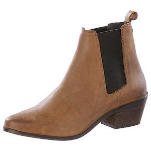 Buffalo Chelsea Boots Damen cognac