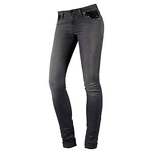 Lee Scarlett Skinny Fit Jeans Damen black denim