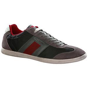 DIESEL Vintagy Sneaker Herren grau/schwarz/rot