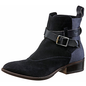 G-Star Shona Flat Cheval Strap Mix Bootie Damen navy