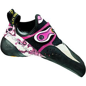 La Sportiva Solution Kletterschuhe Damen weiß/pink