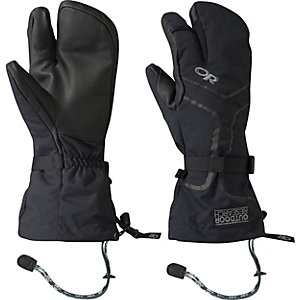 Outdoor Research Highcamp 3-Finger Outdoorhandschuhe Herren schwarz