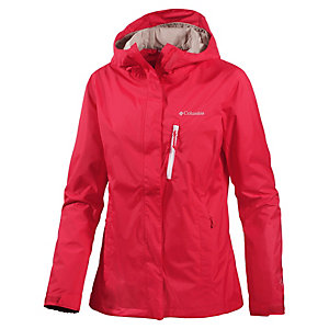 Columbia Pouring Adventure Regenjacke Damen rot