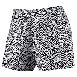 all about eve Shorts Damen schwarz/weiß