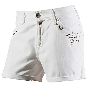 Pepe Jeans Chalkie Jeansshorts Damen weiß