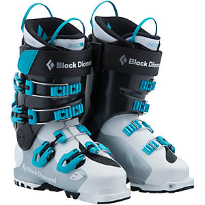 Black Diamond Shiva MX Skischuhe Damen weiß/schwarz/blau