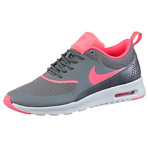 nike air max thea sneaker damen grau neonrot im online. Black Bedroom Furniture Sets. Home Design Ideas