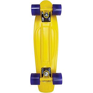 "AREA Candyboard 22,5"" Skateboard-Komplettset gelb/blau"