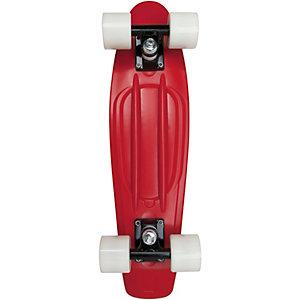 "AREA Candyboard 22,5"" Skateboard-Komplettset rot/weiß"