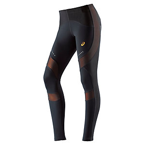 ASICS Leg Balance Lauftights Damen schwarz/orange