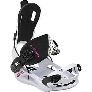 Roxy Rock-It Dash Snowboardbindung Damen weiß/schwarz