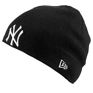 New Era Seasonal Beanie schwarz/weiß