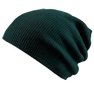 Brekka Milano Beanie dunkelgrün