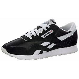 Reebok CL NYLON Sneaker Herren schwarz/weiß