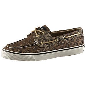 Sperry Bootsschuhe Damen braun/leopard