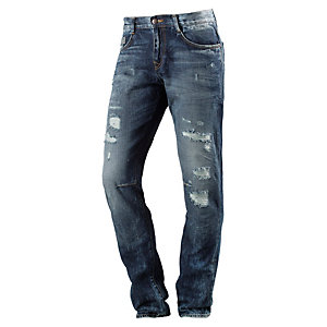 LTB Justin Straight Fit Jeans Herren destroyed denim