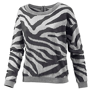 Neighborhood Strickpullover Damen grau/anthrazit