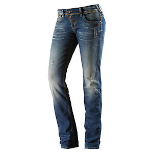 Mogul Alice Straight Fit Jeans Damen denim