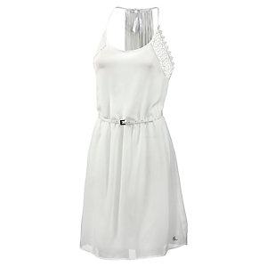 Mogul Trägerkleid Damen weiß