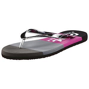 CoolShoe Prism Zehensandalen Damen grau/pink