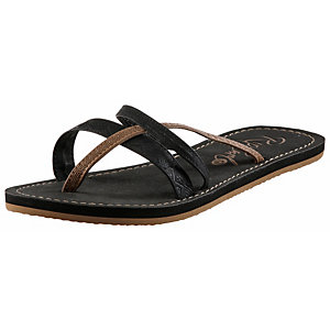 Rip Curl Jordan Black Zehensandalen Damen schwarz/braun