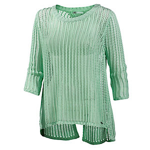 Volcom All Meshed Strickpullover Damen mint