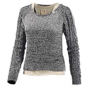 Khujo 2-In-1 Pullover Damen graumelange