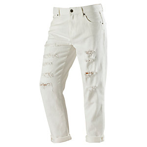 Volcom Stoned Slim Skinny Fit Jeans Damen weiß