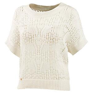Maui Wowie Shirt Strickpullover Damen weiß