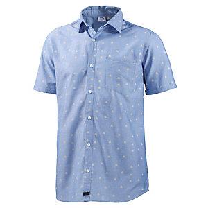 WLD New morning Kurzarmhemd Herren blau/allover