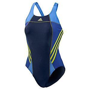 adidas schwimmanzug damen navy gelb im online shop von. Black Bedroom Furniture Sets. Home Design Ideas