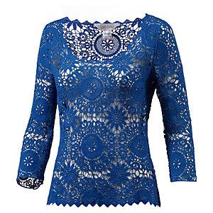 LingaDore Langarmshirt Damen lila