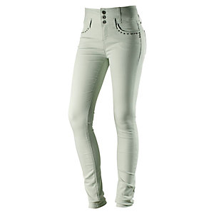 b.young Röhrenhose Damen mint