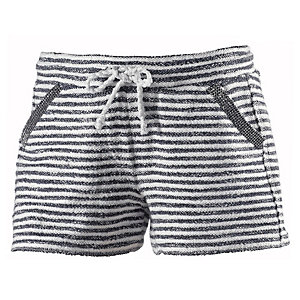 Rich & Royal Shorts Damen marine/weiß