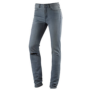 S.OLIVER Reena Skinny Fit Jeans Damen grau used denim