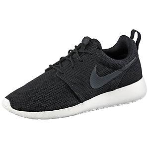Nike Roshe Run Sneaker Herren schwarz