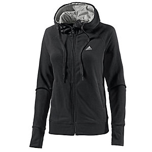 adidas sweatjacke damen schwarz im online shop von sportscheck kaufen. Black Bedroom Furniture Sets. Home Design Ideas
