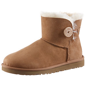 Ugg Australia Mini Baily Botton Bootie Damen camel